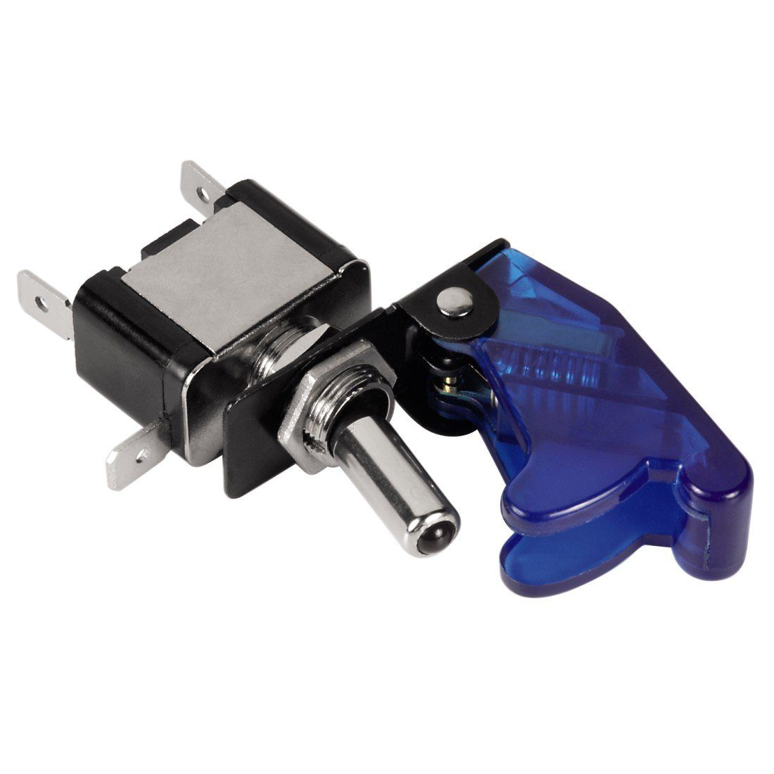 Hama Kfz-Schalter Ignition Switch, mit LED, Transparent/Blau